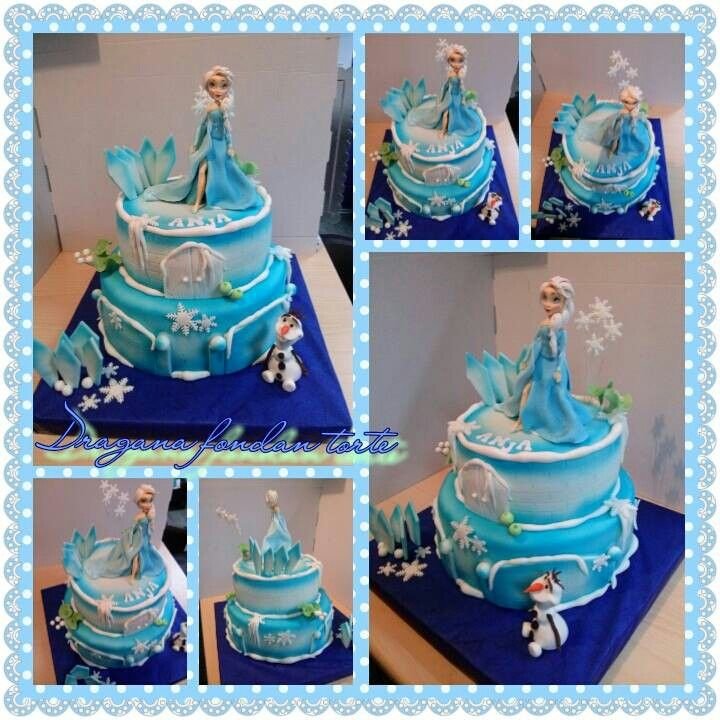 Cake Decorating Frozen Movie : Pin by Karrie Green on Anna and Elsa frozen party idea ...