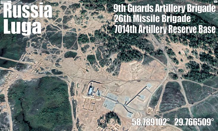 Luga has massive artillery and missile base, it was also the main Zapad 2017 publicity drill site and these sat picts are just after it. You can see the enormous size of infra etc build up for that.