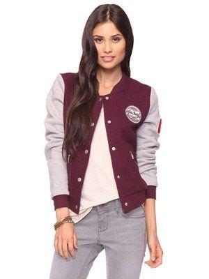 Resultado de imagen para fitted letterman jacket