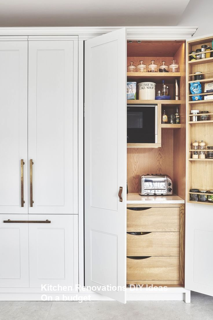 10 Diy Solutions To Renew Your Kitchen 1 With Images Kitchen Cabinet Organization Layout Small Kitchen Decor New Kitchen Cabinets