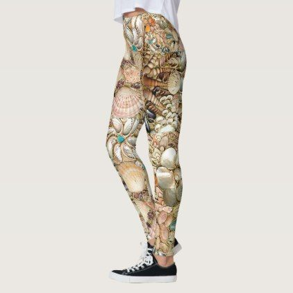 #SHELL GAME  - LEGGINGS - #giftsforher #gift #gifts #her