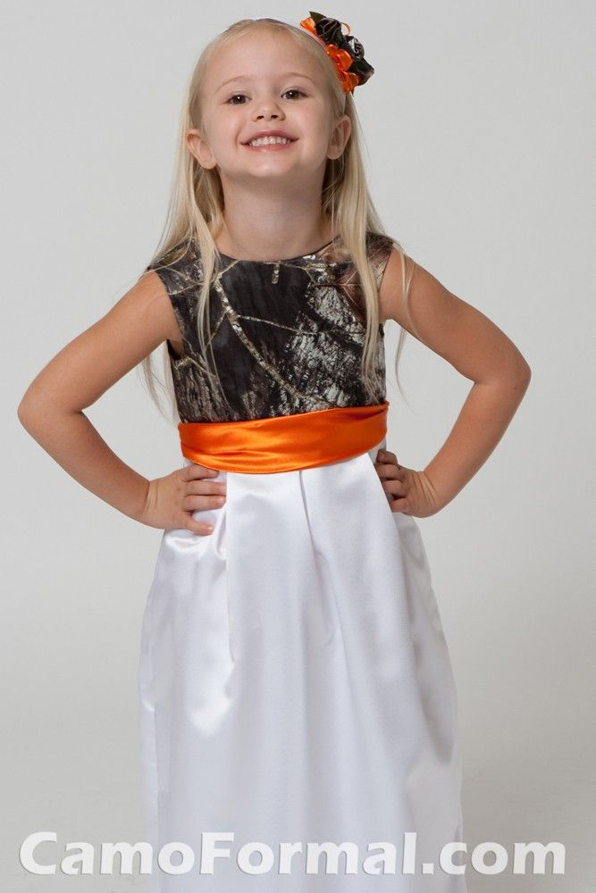 Muddy Girl Camo Weddiong Dress Mossy Oak Kids Camo