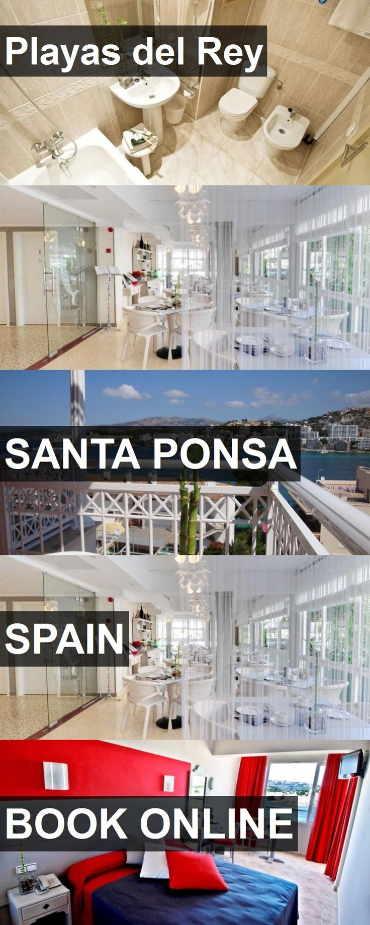 Hotel Playas del Rey in Santa Ponsa, Spain. For more information, photos, reviews and best prices please follow the link. #Spain #SantaPonsa #travel #vacation #hotel