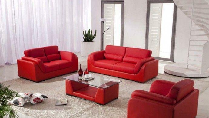 die besten 25 rotes sofa ideen auf pinterest roter sofa dekor rote sofas und rote couchzimmer. Black Bedroom Furniture Sets. Home Design Ideas