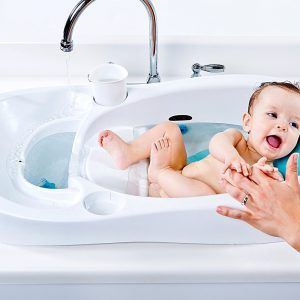 Wide Baby Bath Tub