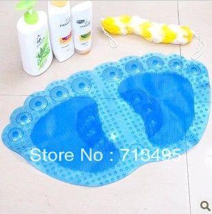 Creative большая нога массаж ванна циновка, Нет - скольжение душ циновка
