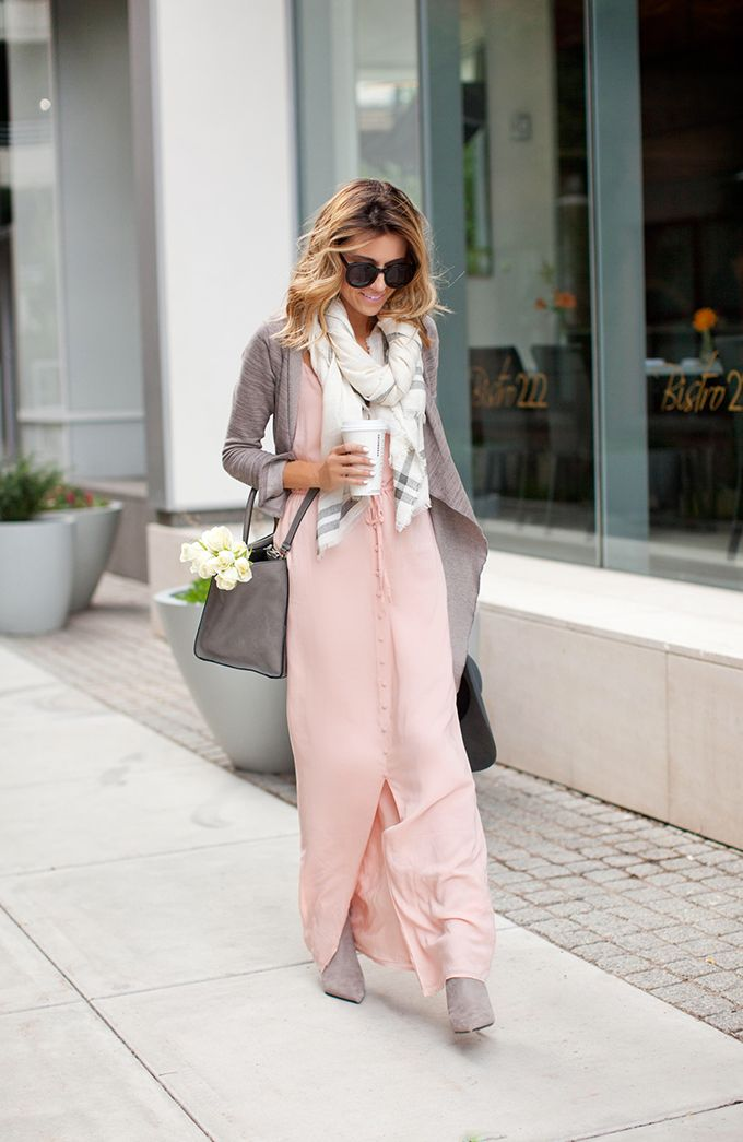 a Summer Maxi to Fall