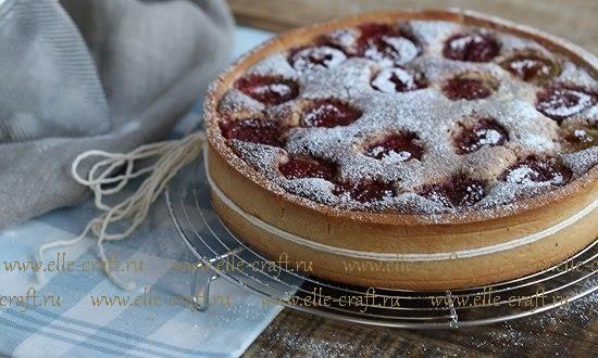 Песочное тесто, ореховый крем, инжир: готовим тарт   elle-craft — творчество со вкусом!