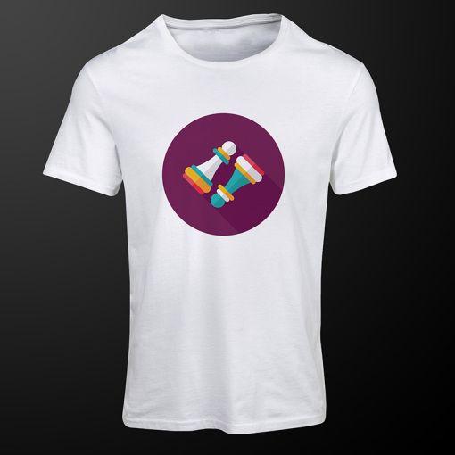 Pawn Mirror #PawnMirror #white #chess #tshirt #clothing #premiumchesswebshop #chesswebshop