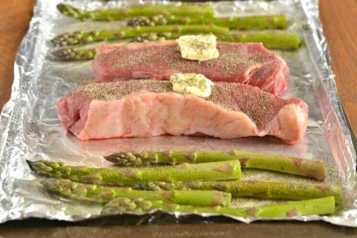 One-Pan New York Strip Steak Dinner for Two