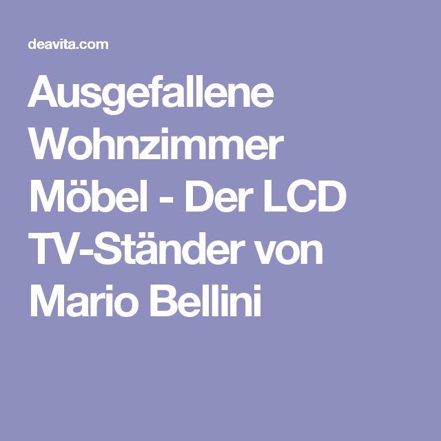 Schön Ausgefallene Wohnzimmer Möbel   Der LCD TV Ständer Von Mario Bellini
