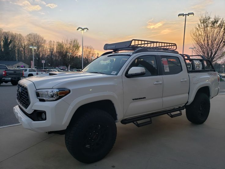 2020 Toyota TRD Sport White with predator running