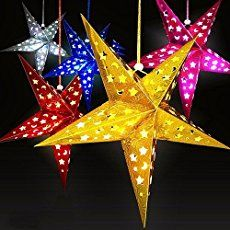 The following tutorial shows how to create a folded paper star that was used in my Fourth of July mantel. The final star is raised, 3-dimensional, with 5 points. Supplies: Rectangle of Paper (ratio like 8.5 X 11 in but can be smaller or larger) The small stars in the above 4th of July mantel were a single sheet of 8.5 X 11 inch paper cut in half. Thick/Cardstock Paper* holds its shape well. Scissors Folding steps: Fold paper in half Take the left hand corner and fold it over to middle...