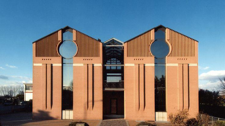 Struttura produttiva e direzionale, Fontanellato (PR), Italia (ReCS Architects: Mario Scaffardi ▪ 1998)