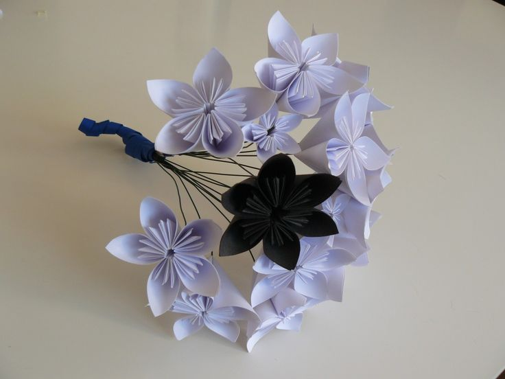 41 best fleurs images on pinterest | flowers, paper and origami