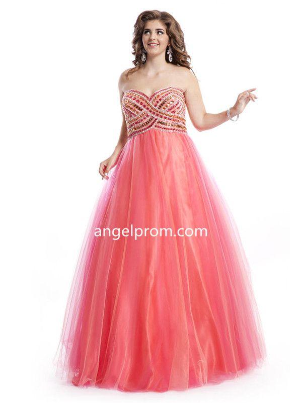 56 mejores imágenes de Plus Size Prom Dress en Pinterest | Vestido ...