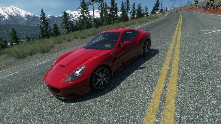 DRIVECLUB - Heading into turn 1 at Sinclair Pass, Ferrari California