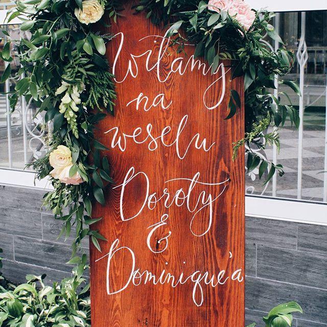Tak jak polska gościnność nakazuje ;) kwiaty #nakokarde #Calligraphy…