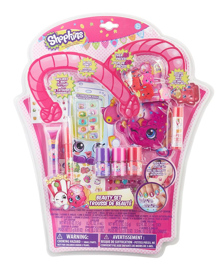 Shopkins™ 80-Piece Cosmetics Set