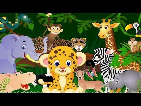 Adivinanzas para niños de animales salvajes - YouTube