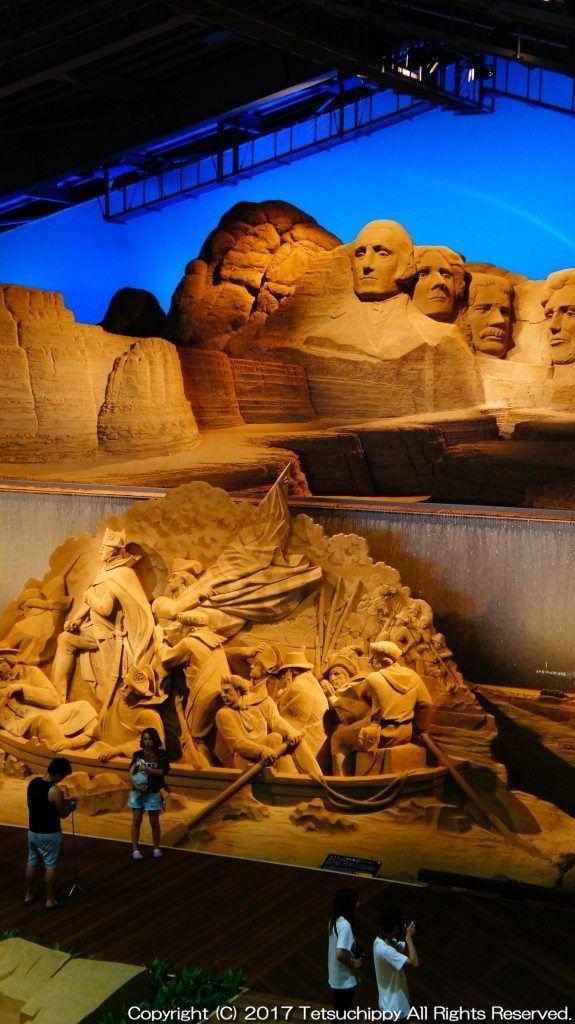 日本|鳥取|砂の彫刻「砂像」をテーマにした「砂の美術館」 | てつちぴ旅!