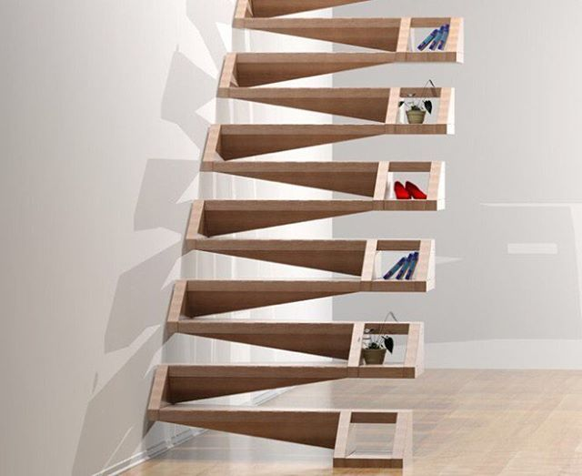Origami Stairs! In love with these stairs!