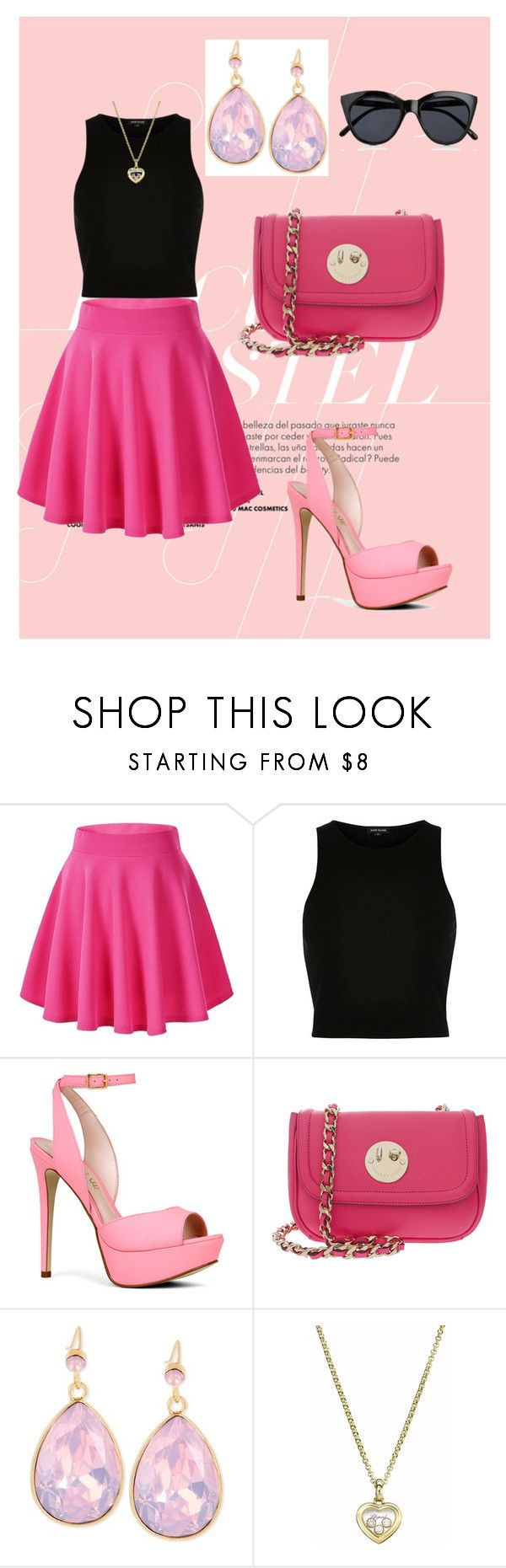 """""""1"""" by adnana544 ❤ liked on Polyvore featuring River Island, ALDO, Hill & Friends, INC International Concepts, Chopard, Le Specs and pretty"""