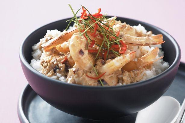 Maxine's Thai prawn curry