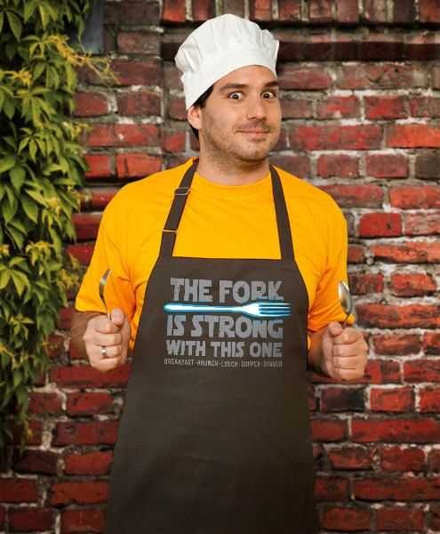 Funny Apron The Fork Husband Apron Awesome Apron by store365