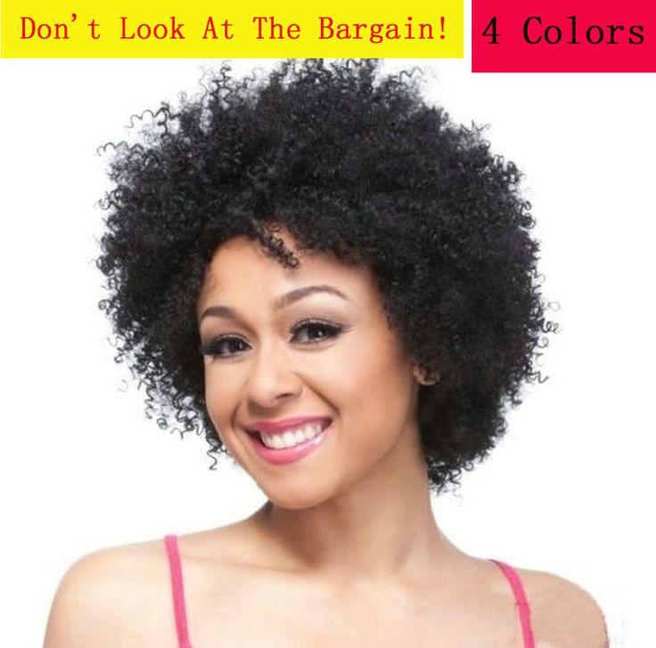 Peruca Cosplay Curto Preto/Brown/Loira/Color Mix Sintético Curly Perucas Africano Americano Wigs Para As Mulheres Negras Pelucas pelo Natural