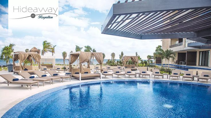 Hideaway at Royalton Riviera Cancun Resort and Spa All-Adults has been selected as one of the BookIt.com® Top Ten All-Inclusive Resorts! The Hideaway section is Adults only and other section the regular Royalton is families