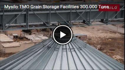 TMO 300.000 toneladas Mysilo grano capacidad Almacenamiento http://bit.ly/1O5HLnJ #acero #cereales #silos #silo  #mysilo #almacenamientodegrano