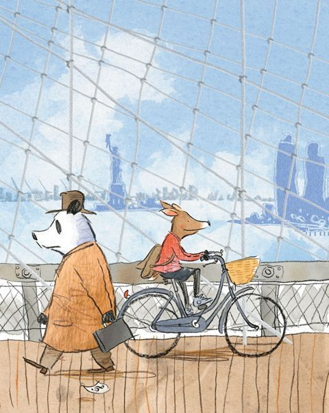 Herman and Rosie by Gus Gordon -- a Neal Porter Book. Limited edition print available at Books Illustrated.  http://www.booksillustrated.com.au/bi_prints_indiv.php?id=64&image_id=394