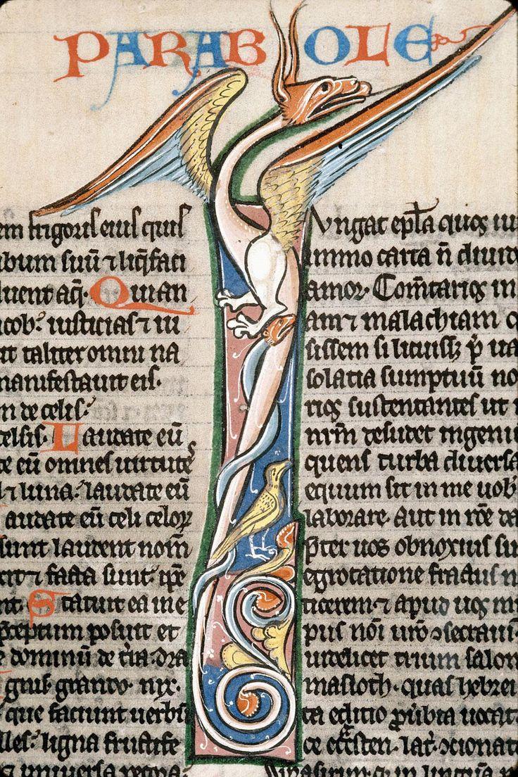 Biblia sacra Langues : latin Date : 13e s.