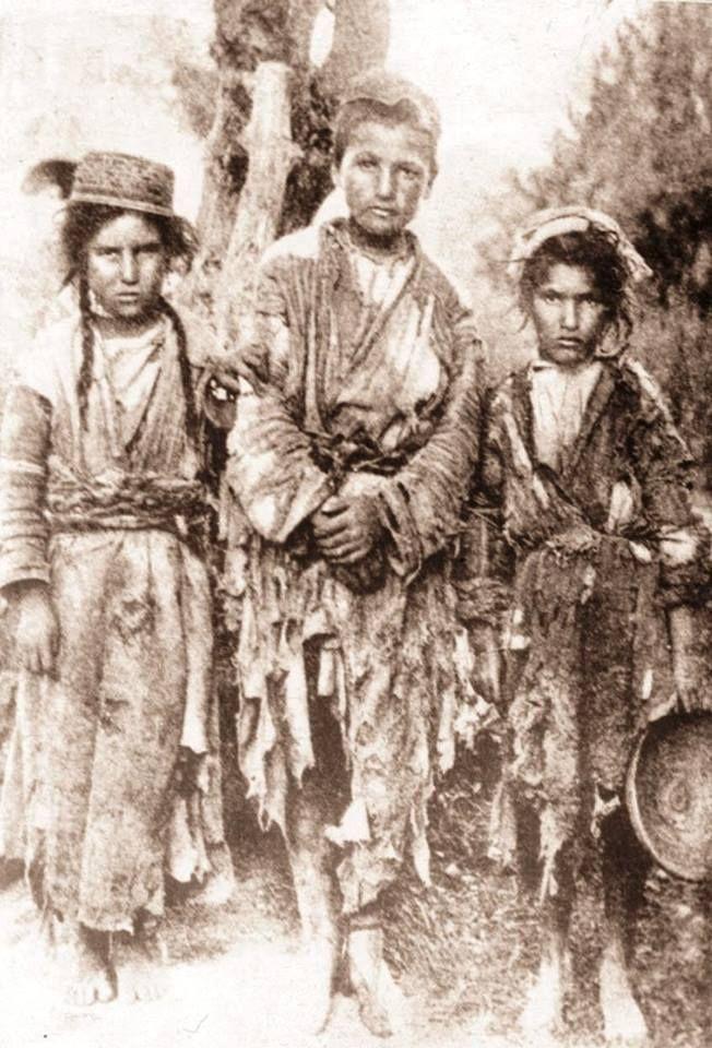 Anadolu'da Ermeni çocuklar