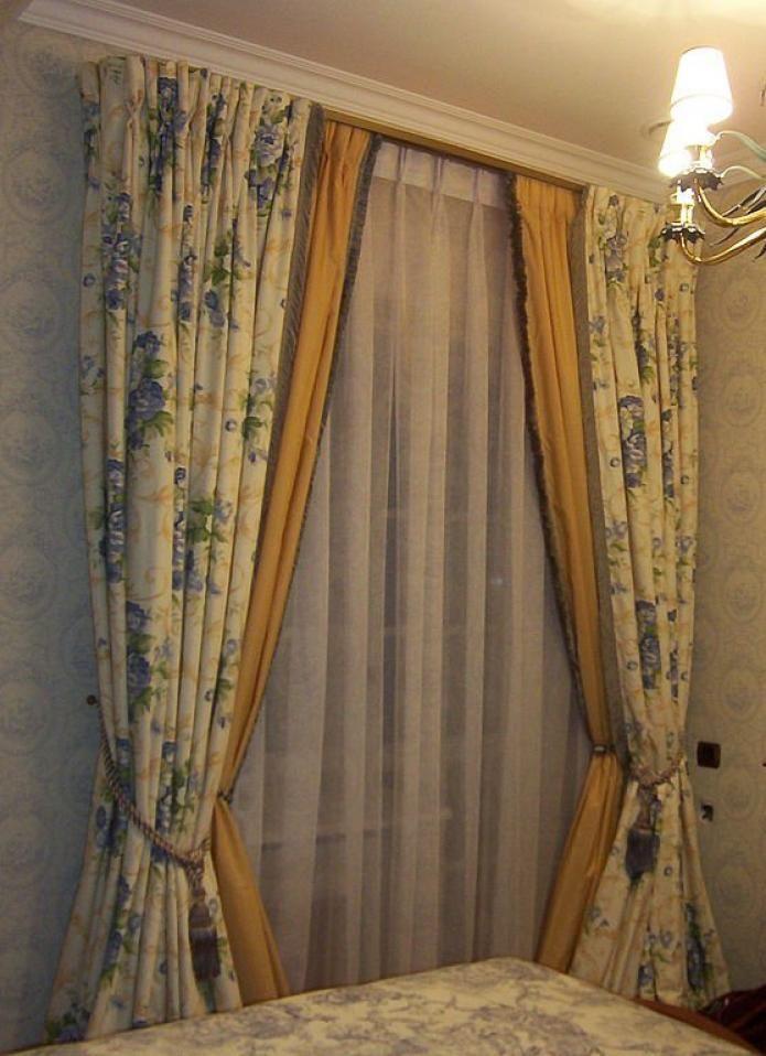 Двойные шторы: фото с идеями для вдохновения