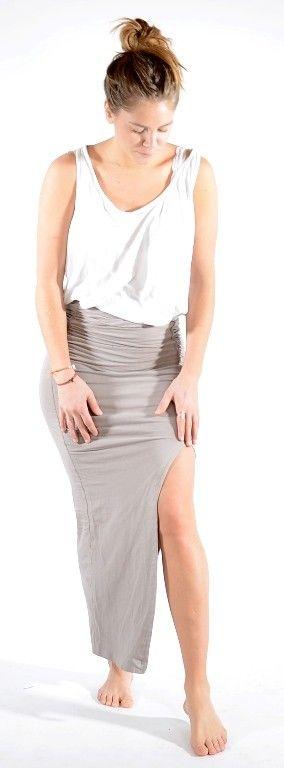 Long jersey skirt Slate http://www.corneliashus.no/bytimo-maxiskjort-slate.html