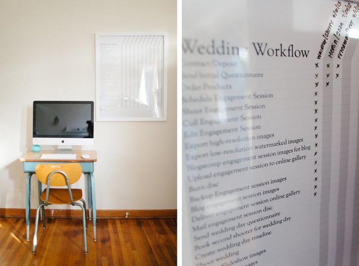 For Photographers: Wedding Workflow Chart — Nashville Wedding Photographer Chelsey Somohano