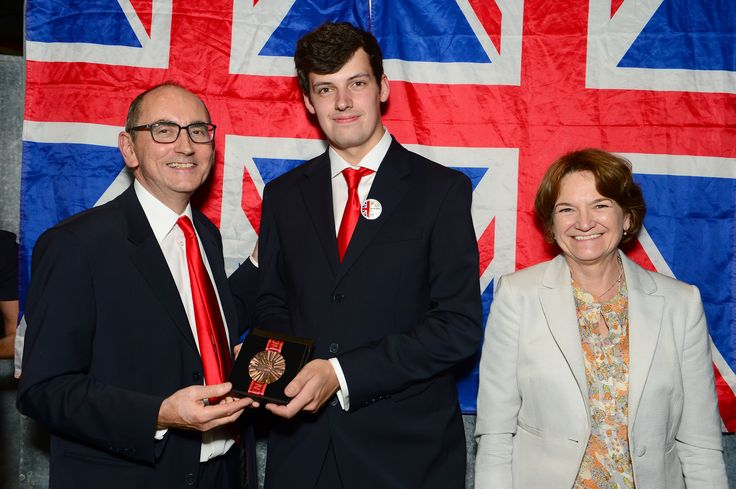 Michael Watson - awarded the Medal of Excellence for CNC Milling