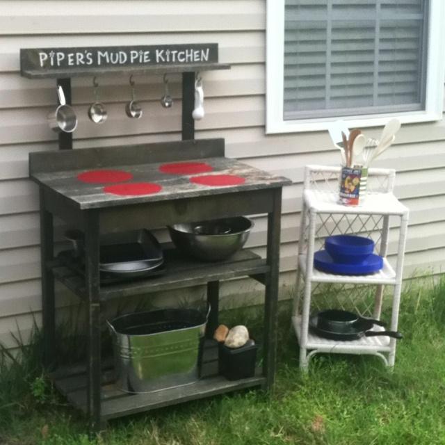 Mud Kitchen Signs: Piper's Mud Pie Kitchen! After Seeing A Few Kitchens On