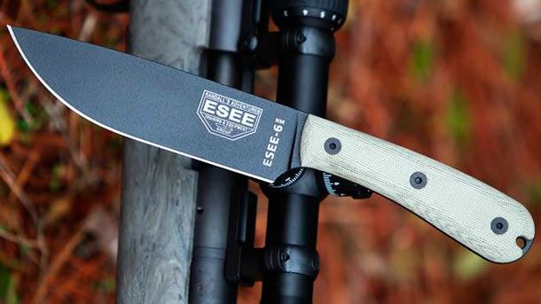 ESEE Knives сегодня объявила о скором старте продаж новой модели ножа ESEE-6HM