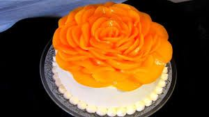 Resultado de imagen de tortas decoradas de melocoton