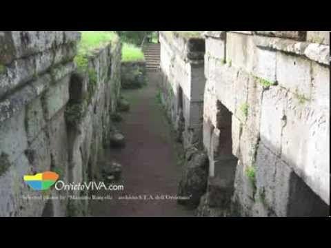 Etruscan Monuments audio guide in English, Orvieto Umbria, Orvietoviva.com