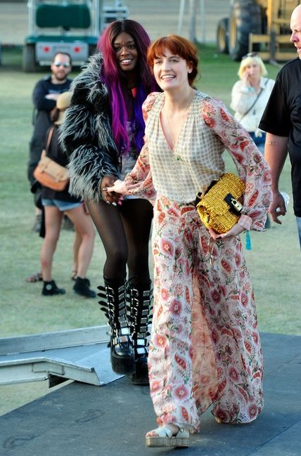Florence Welch in Coachella