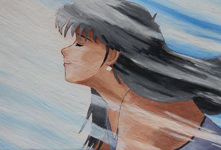 Madoka Ayukawa in painting
