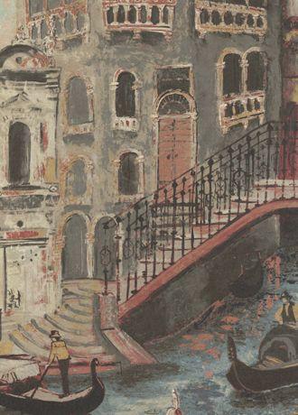 The Gondolier wallpaper from Zoffany