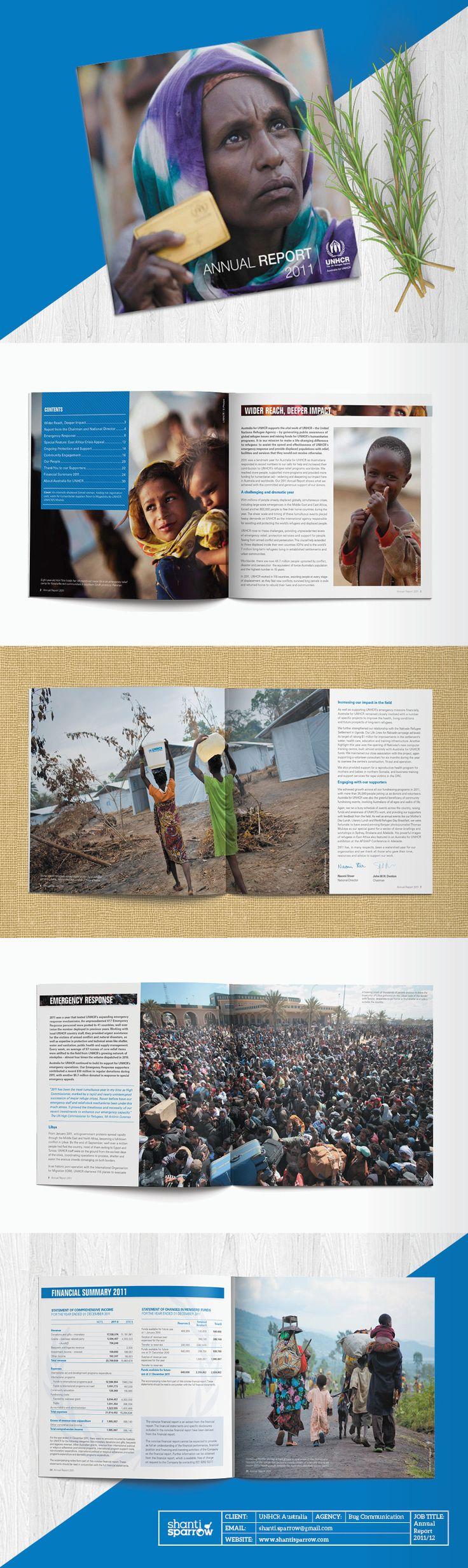 shanti_sparrow_Design_25_UNHCR_Annual_Report_Layout_Brochure
