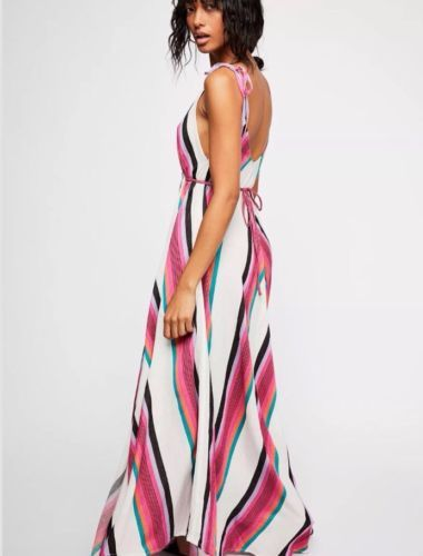 8299b3d064 Rare-Free-People-Neon-Lights-Maxi-Dress -by-Endless-Summer-Small-Retails-185-00