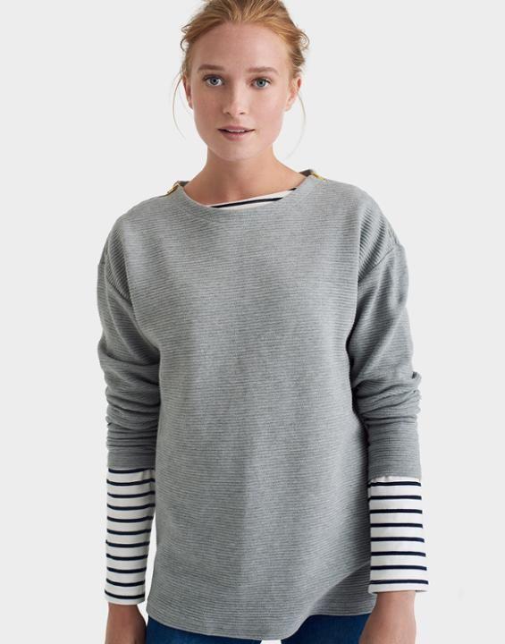 Breeya Textured Sweatshirt | Texture sweatshirt, Jumpers ...