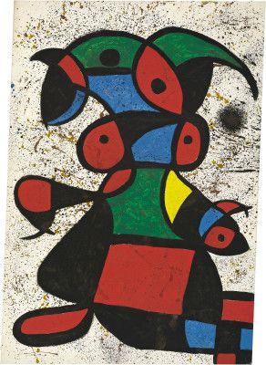 Miró, Joan Spanish, 1893 - 1983  Woman 1976